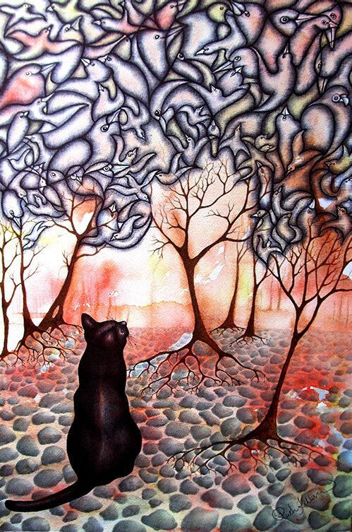 'Looking Up' by Ruth Killoran