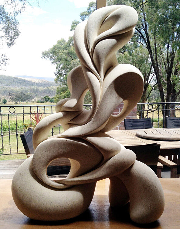 'Love Knot', sculpture by Ruth Killran